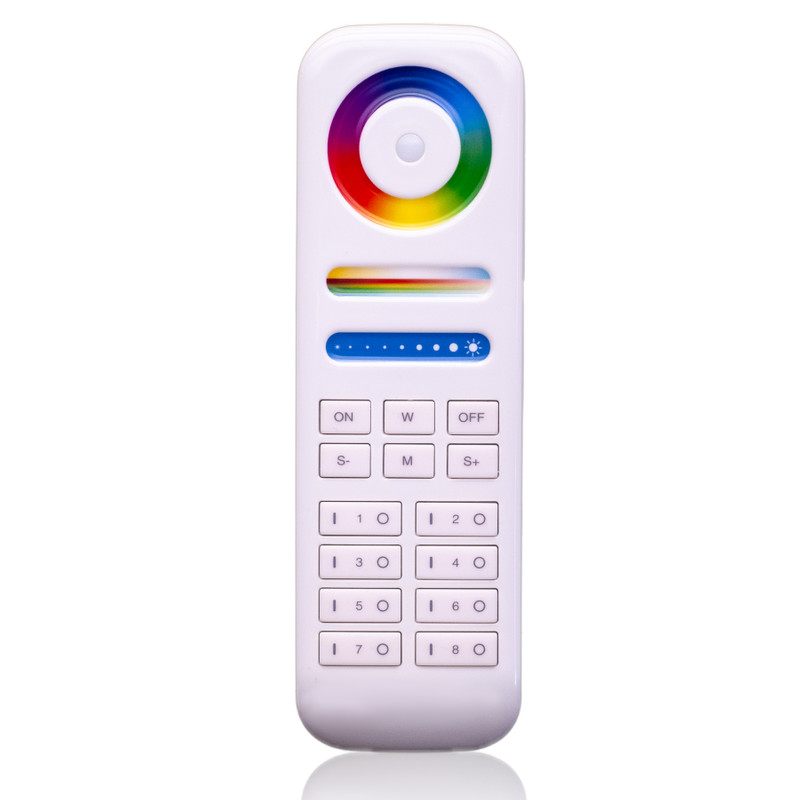 Easy Serie Touch Fernbedienung RGB-W + WW | 8 Zonen| 2,4 GHz – Bild 1