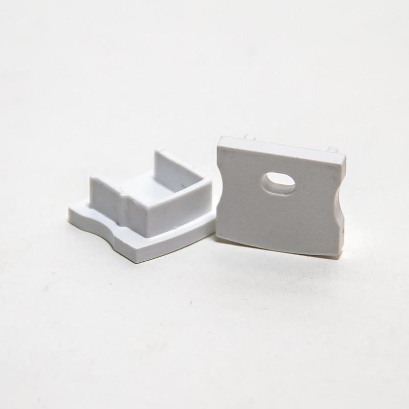 2 Endkappen für 126-2611 Alu U-Profil 17x15mm – Bild 1