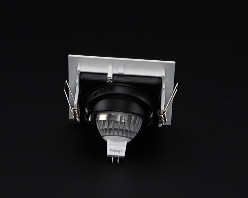 Algol I schwarz / weiß 12V AC/DC 1x max.35 W - Deckeneinbauring – Bild 3