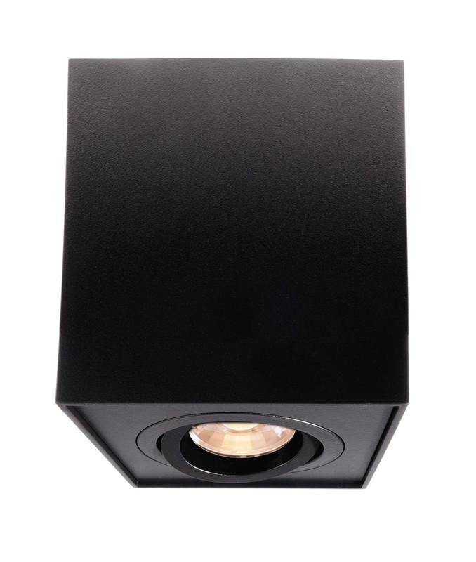 Dato schwarz 230V AC 1x max. 50 W - Deckenaufbauleuchte – Bild 1