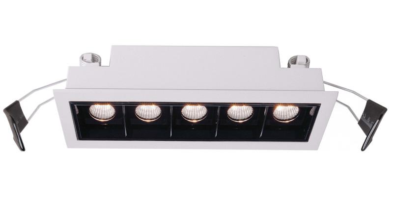 Ceti 5 weiß 45° 14-15V DC 10 W 800 lm 3000 K - Deckeneinbauleuchte – Bild 1