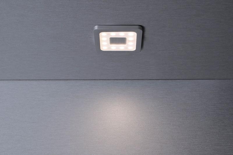Paty Eckig silberfarben 120° 12V DC 2,50 W 160 lm 3000 K - Möbelaufbauleuchte – Bild 2