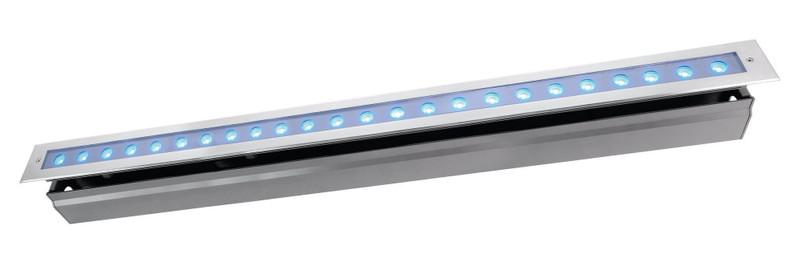 Line VI RGB silberfarben 30° 24V DC 42,80 W 700 lm - Bodeneinbauleuchte – Bild 1