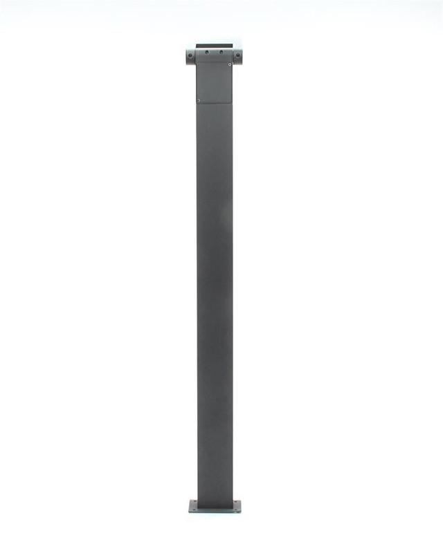 10W Stehleuchte, Robi flex, Dunkelgrau, 230V, 3000K, IP54 – Bild 5
