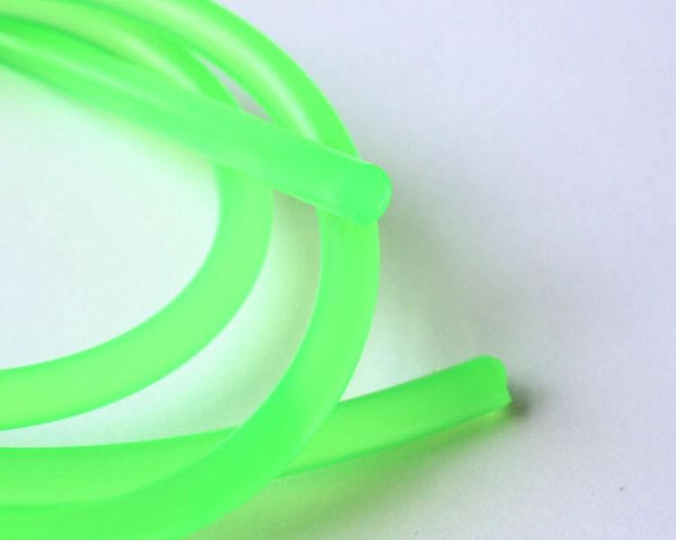 1 m Fluo UV Schnur fluoreszierend Ø 6 mm Grün – Bild 2