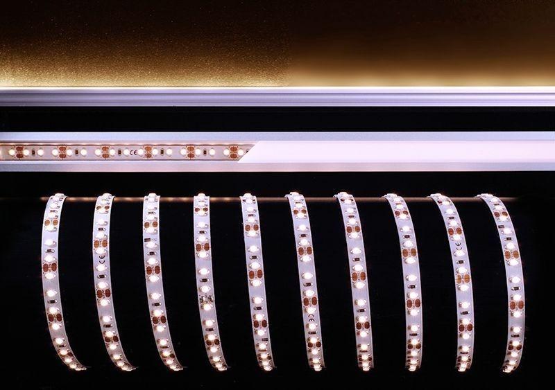 3528-120-12V-2700K-5m Weiß 120° 12V DC 30 W 2250 lm 2700 K - Flexibler LED Stripe – Bild 1