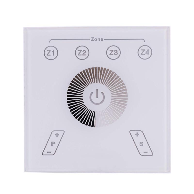 Touchpanel RF Single Weiß 230V AC 2 W - Controller – Bild 1