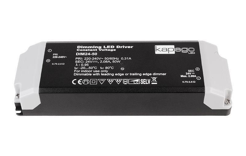 Dimmable CV Power Supply 24V 12-50W 2080 mA 24V DC Schwarz 230V AC 12-50 W - Netzgerät – Bild 1