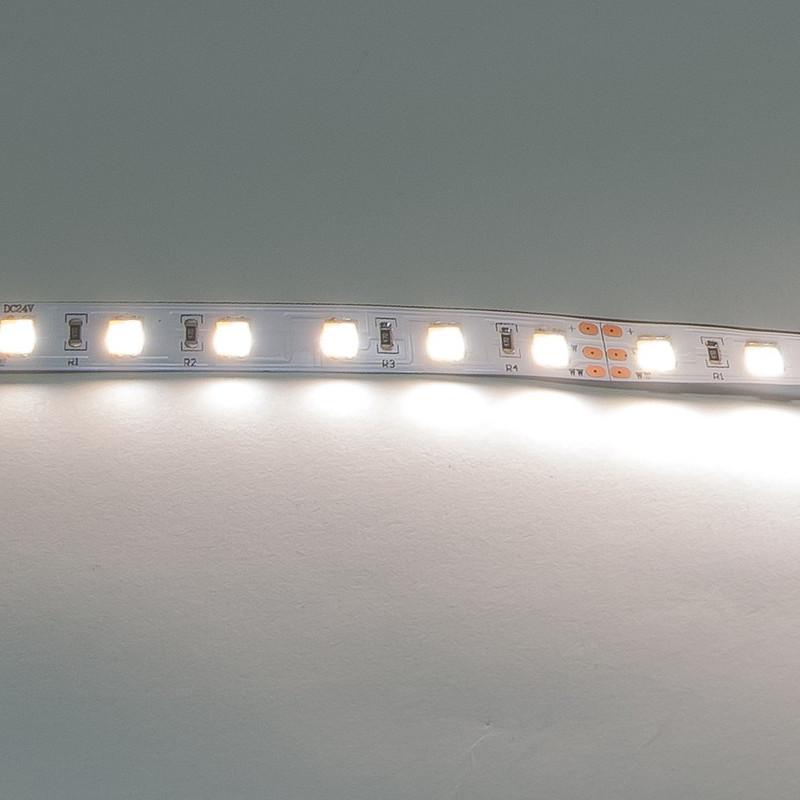 LED Streifen 5m | Dual  | 24V 144W IP20 | 300x 2in1  kalt-/warmweiße LEDs | dimmbar – Bild 2