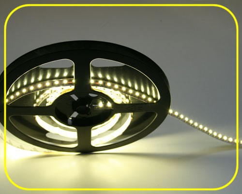LED Streifen 5m | Warmweiß  | 24V 48W IP20 | 600 LEDs | dimmbar – Bild 5