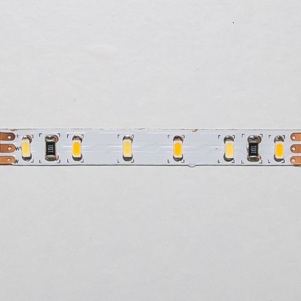 LED Streifen 5cm | Dual  | 12V 0,72W IP20 | je3 warm-/kaltweiße LEDs | dimmbar | 6mm – Bild 1