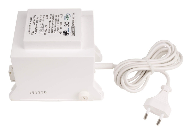 ABN 300VA konventionell 12V AC Weiß 230V AC 300 W - Netzgerät – Bild 1