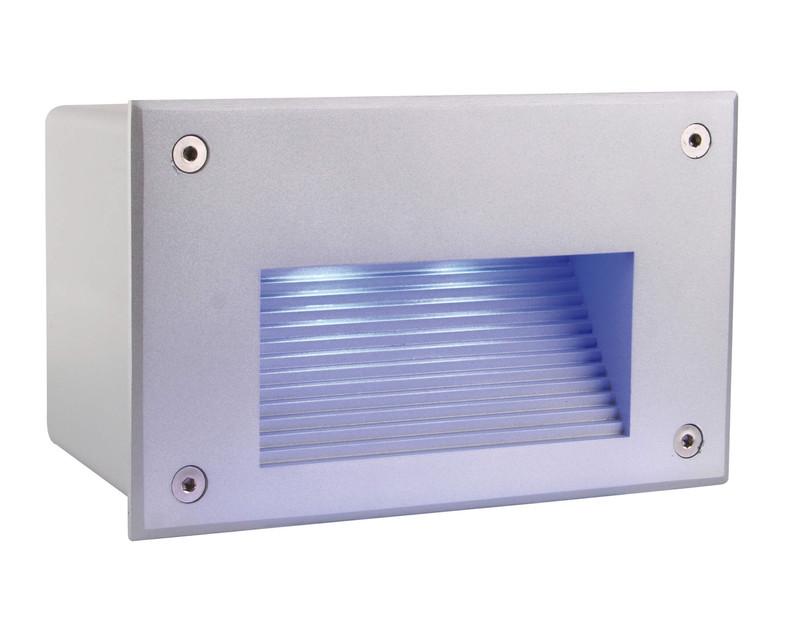 Side III LED RGB silberfarben 120° 24V DC 3,50 W 24 lm - Wandeinbauleuchte