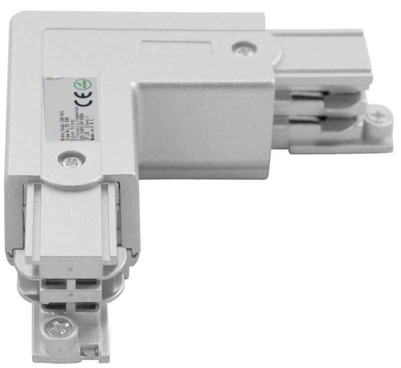 3 Phasen Track Light System Eckverbinder Schutzleiter Rechts – Bild 1