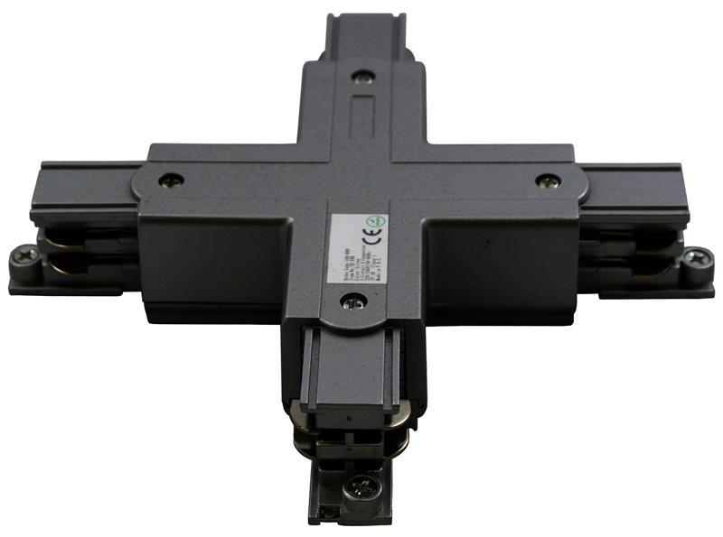3 Phasen Track Light System Kreuzverbinder – Bild 1