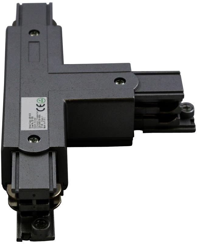 3 Phasen Track Light System T-Verbinder Schutzleiter Links – Bild 1
