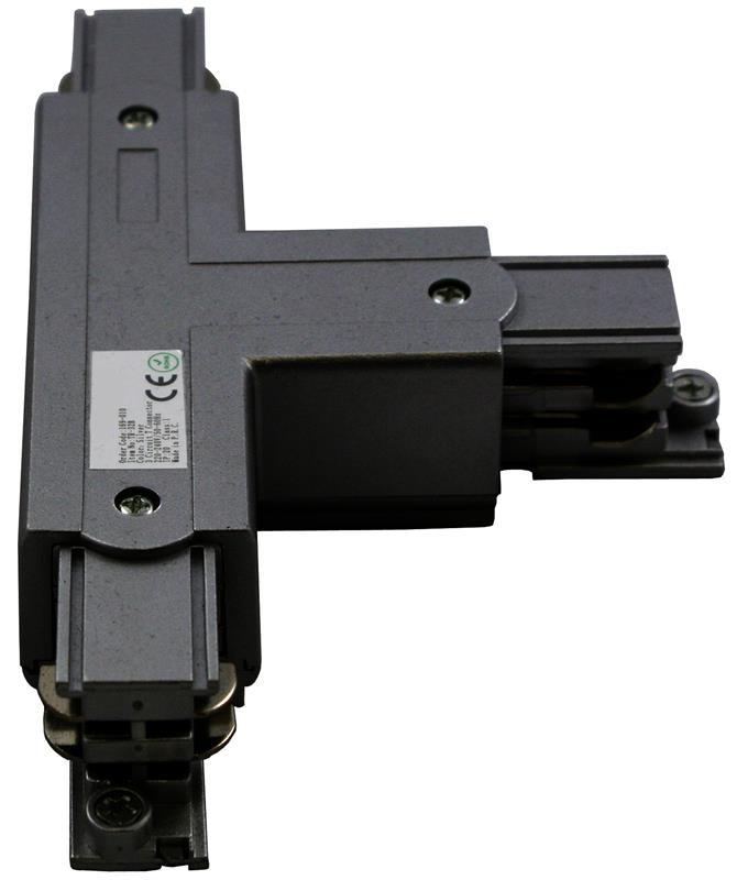 3 Phasen Track Light System T-Verbinder Schutzleiter Rechts – Bild 1