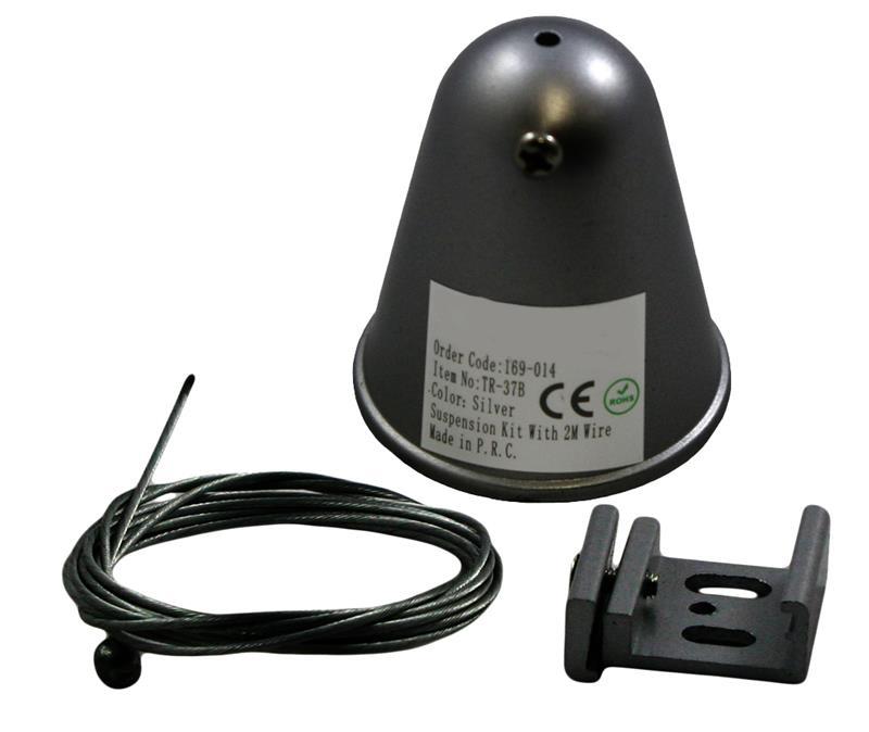 3 Phasen Track Light System Befestigungsset zum Aufhängen – Bild 1