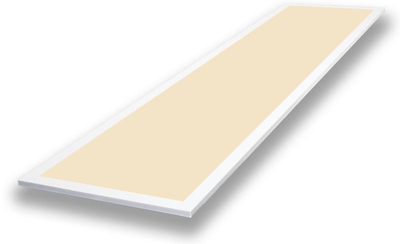 LED Panel 1195 mm x 295 mm | 240 V | 36 W | 3000 Kelvin | 3615 Lumen | weiß | dimmbar (Triac) | Driver inklusive