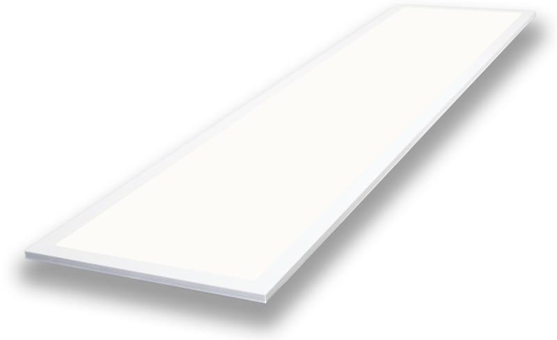 LED Panel 1195 mm x 295 mm | 240 V | 36 W | 6000 Kelvin | 3673 Lumen | weiß | dimmbar (1-10V) | Driver inklusive – Bild 1