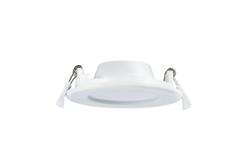LED Panel Ø115 mm | 240 V | 6W | 3000K | 350lm | weiß | nicht dimmbar – Bild 2