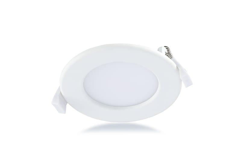 LED Panel Ø115 mm | 240 V | 6W | 4000K | 390lm | weiß | nicht dimmbar – Bild 1