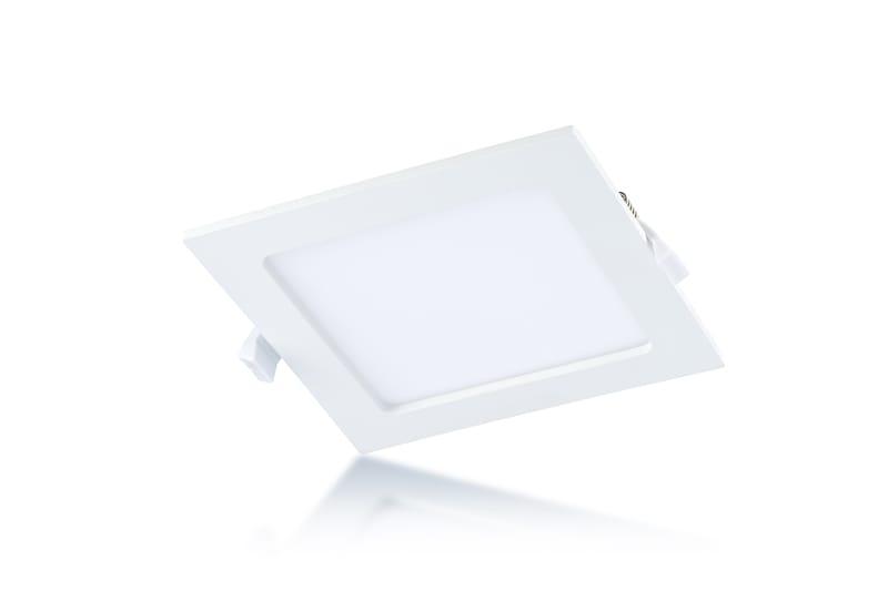 LED Panel 165 x 165 mm | 220-240 V | 12 W | 3000 Kelvin | 780 Lumen | weiß | nicht dimmbar | Driver inklusive – Bild 1