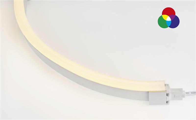 LED Neon Flex Pro RGB | 24 V DC | 12 W / m | RGB | 10 m | dimmbar