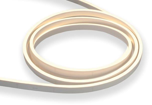 LED Neon Flex Flat | 24 VDC | 12 W/m | 5700K | Weiß | >320lm | 10 m | dimmbar – Bild 1