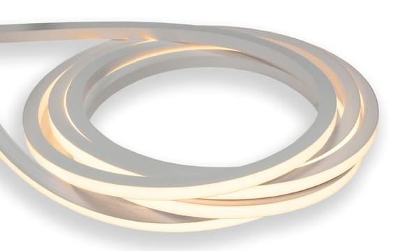 LED Neon Flex 2-seitig | 24 V DC | 10,5 W / m | 3000 Kelvin | Neutralweiß | >450 Lumen | 10 m | dimmbar