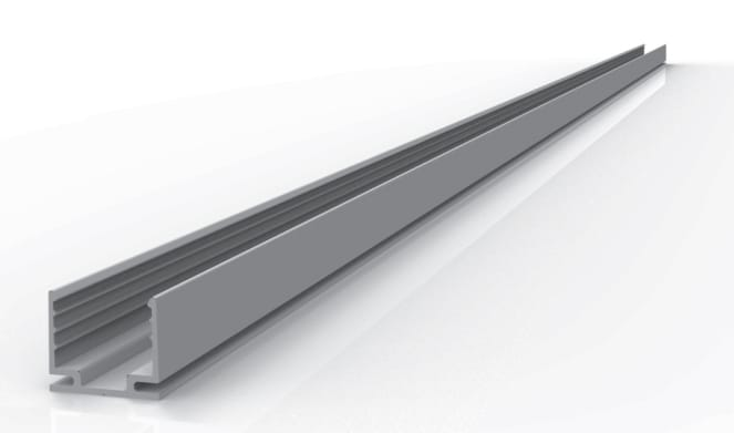 Aluminiumprofil für LED Neon Flex 2-seitig 1m