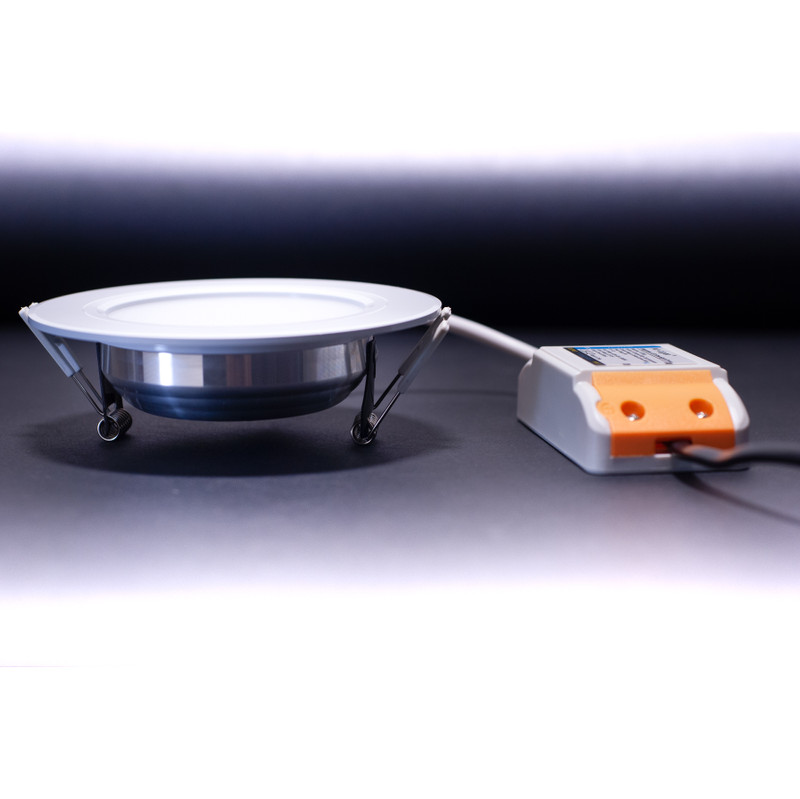 Easy Serie RGB-W+WW Panel Downlight 118mm | 230V | 6W | 600 Lumen | 4/8 Zonen | inkl. LED-Treiber – Bild 3