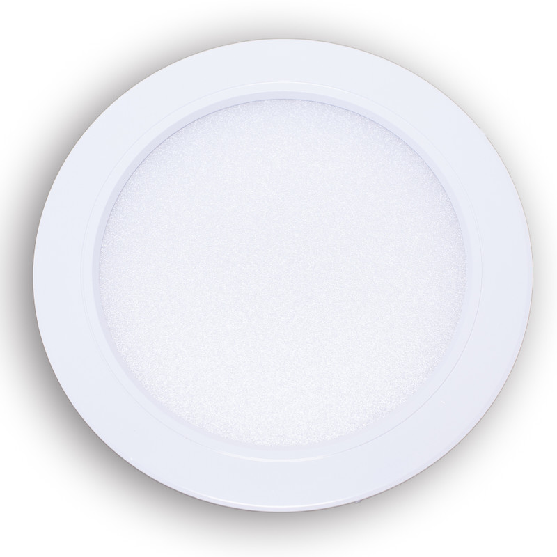 Easy Serie RGB-W+WW Panel Downlight 118mm | 230V | 12W | 1100 Lumen | 4/8 Zonen | inkl. LED-Treiber – Bild 1