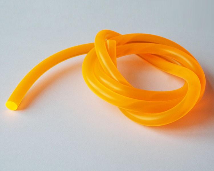 1 m Fluo UV Schnur fluoreszierend Ø 8 mm Orange – Bild 1