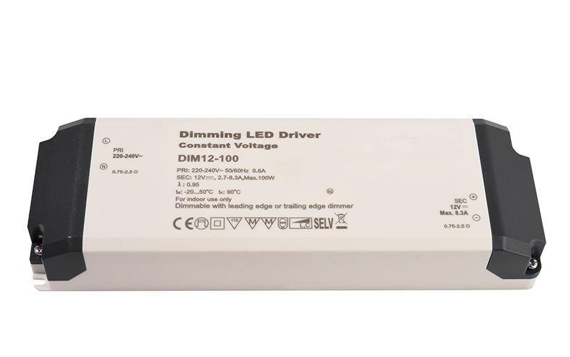 Dimmable CV Power Supply 12V 34-100W 8300 mA 12V DC Weiß 230V AC 34-100 W - Netzgerät – Bild 1
