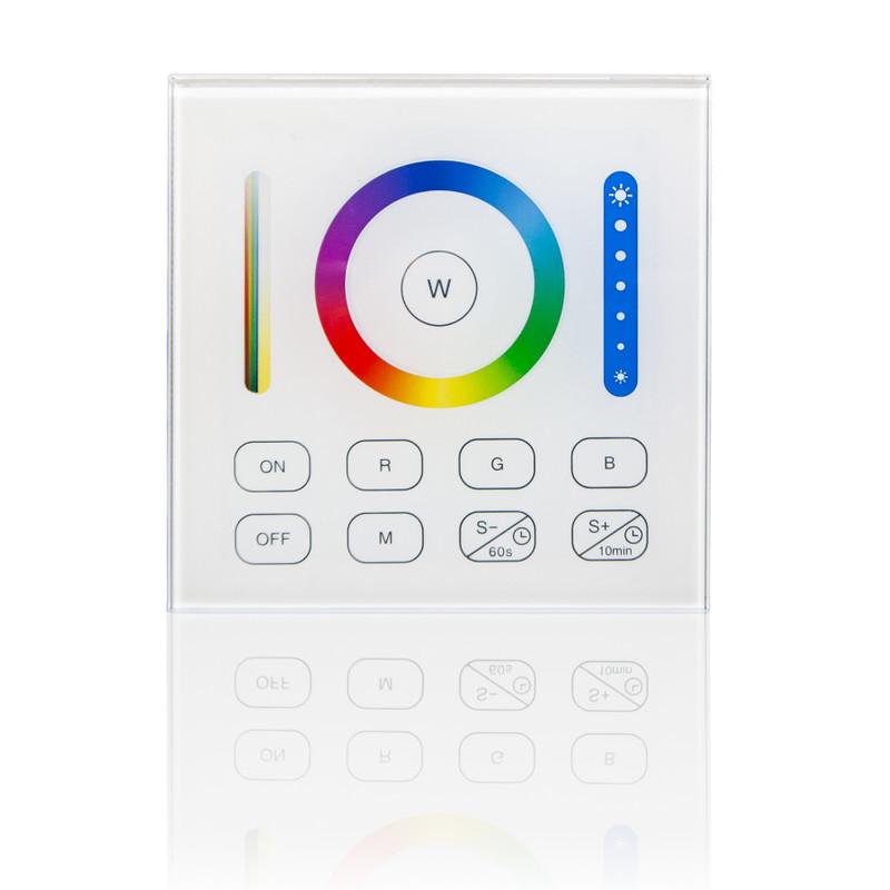 Easy Serie Touch Wandfernbedienung für RGB-W+WW  LED mit Glasoberfläche| 1 Zone | 2,4 GHz – Bild 1