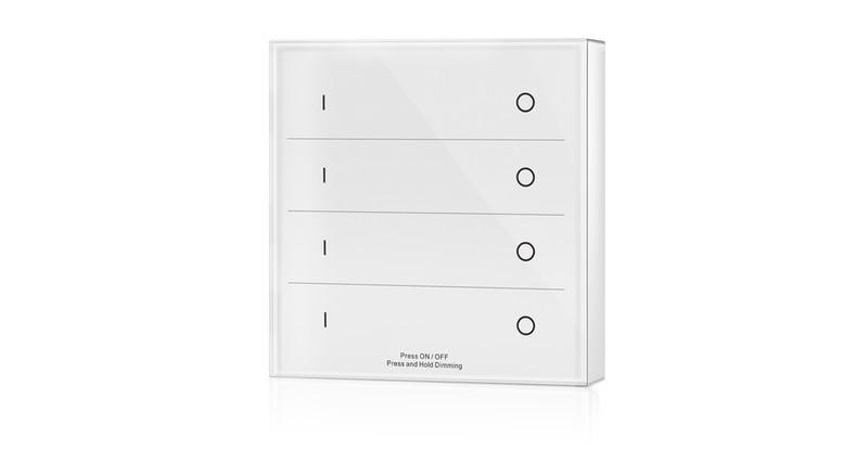 Multi-Serie 4-Zonen Wandfernbedienung, weiß