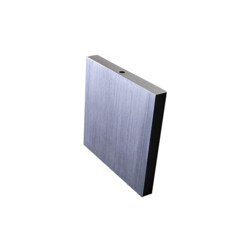 8x8cm Abdeckung geschliffen, 10° + 60° Beleuchtung für 230V.Stufenbeleuchtung – Bild 1