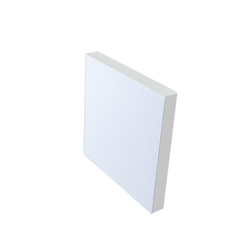 8x8cm Abdeckung Alu Weiß, 60° Beleuchtung für 230V.Stufenbeleuchtung – Bild 1