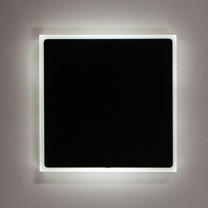 8x8cm Abdeckung Anthrazit, seitliche + Front Beleuchtung 230V.Stufenbeleuchtung – Bild 3