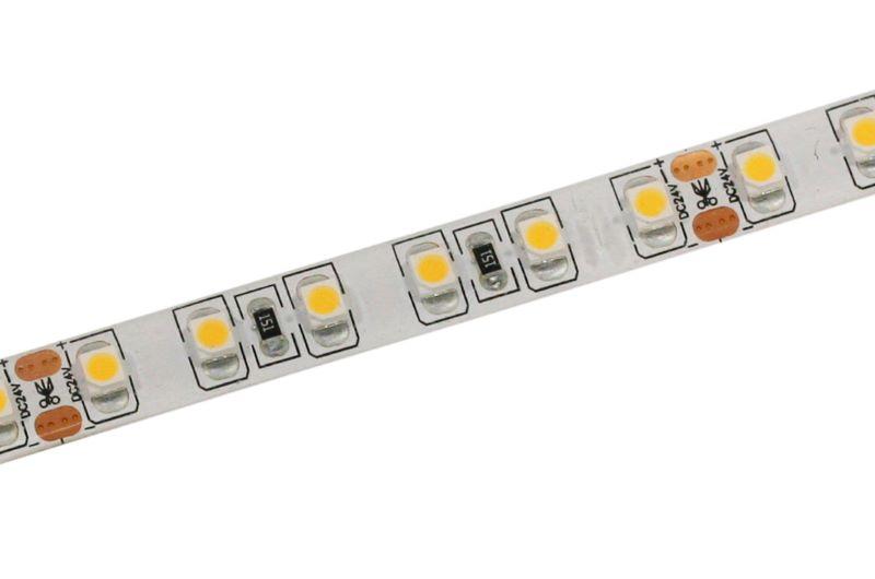 IP44 LED Streifen 5m | 3000K  | 24V 48W | 600 LEDs | dimmbar – Bild 2
