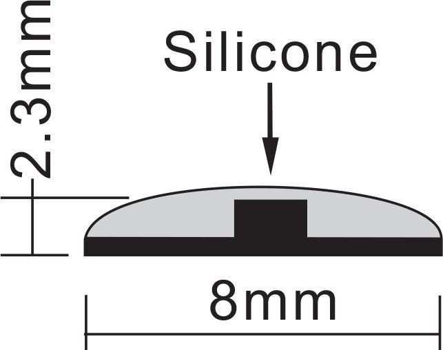 IP44 LED Streifen 5m | 3000K  | 24V 48W | 600 LEDs | dimmbar – Bild 4