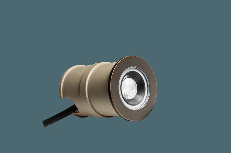 Boden Spot Ø 55mm 40° 24V 2,5W 3000K IP67 – Bild 1