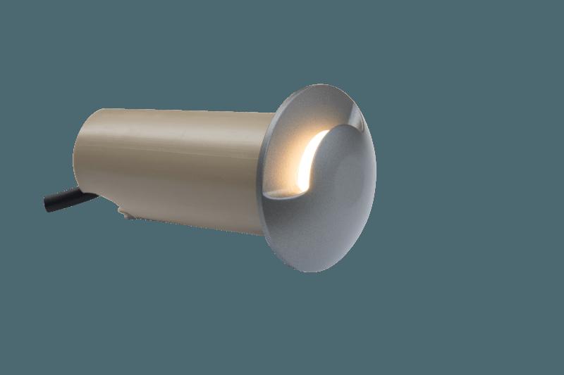 Boden Spot Ø 60mm einseitig 24V 2,4W 3000K IP67 – Bild 1