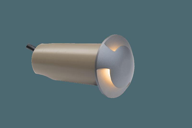 Boden Spot Ø 60mm zweiseitig 24V 2,6W 3000K IP67 – Bild 1