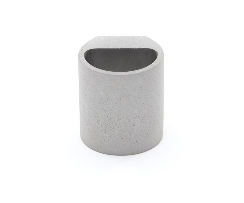 Sabik grau 230V AC 1x max. 25 W - Wandaufbauleuchte – Bild 3