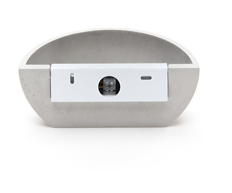 Netito II grau 230V AC 1x max. 25 W - Wandaufbauleuchte – Bild 3