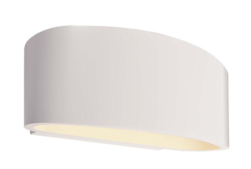 Arietis weiß 230V AC 1x max. 42 W - Wandaufbauleuchte – Bild 1