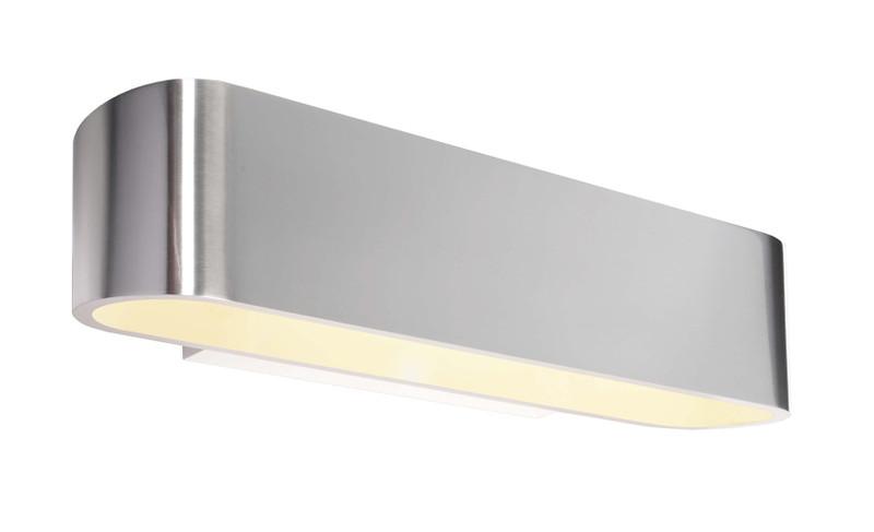 Bootis silberfarben 230V AC 1x max. 160 W - Wandaufbauleuchte – Bild 1