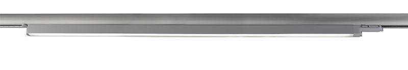 Linear 100 silberfarben 110° 230V AC 30 W 2435 lm 4000 K - Schienensystem 3-Phasen 230V – Bild 1